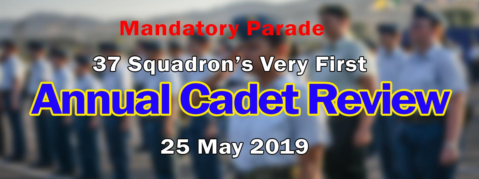 Annual Cadet Review